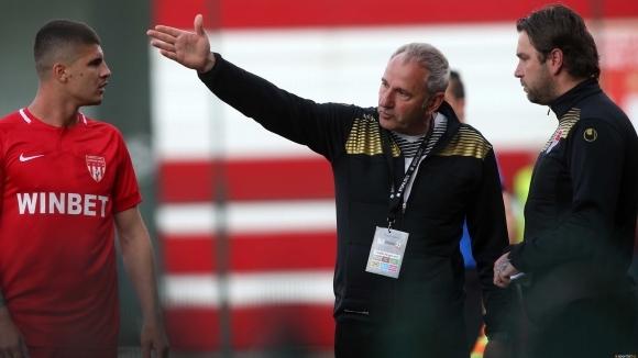 Спасов: Радвам се, че на нашия стадион станахме шампиони