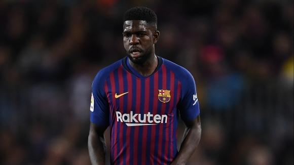 Барселона не желае да се разделя с Юмтити
