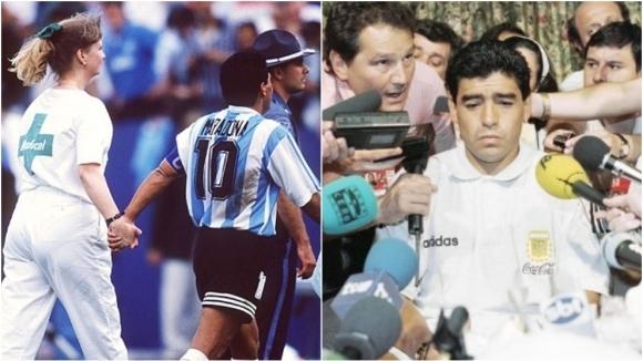 """""""Предадоха ни и не ни подкрепиха"""" - разказ на играч на Аржентина за допинга на Марадона на САЩ'94"""