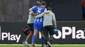 Тежка контузия застигна футболист на Херта