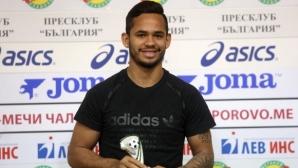 Евандро: Искам да вляза в историята на клуба (видео+снимки)
