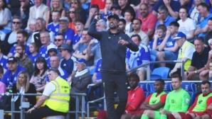Юрген Клоп: Не можем да повлияем на дербито на Манчестър, но изглежда, че и Юнайтед няма да може
