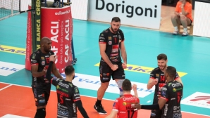 Цецо Соколов с 15 точки, Лубе изпусна Тренто в полуфинал №3 (видео + снимки)