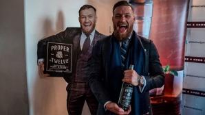 Конър Макгрегър е продал уиски за $40 милиона (видео)