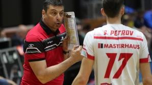 Ники Желязков и Георги Братоев: Имаме добри и млади волейболисти
