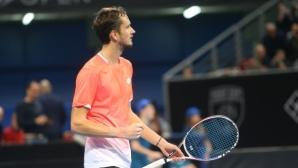 Медведев е първият полуфиналист в Барселона