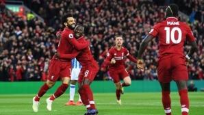 5 гола, рекорд и дългоочаквано завръщане, а Ливърпул отново е пред Ман Сити (видео)