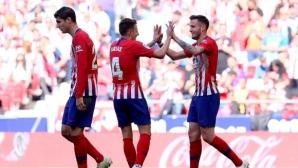 Барса ще трябва да победи, за да празнува, Атлетико си свърши работата (видео + галерия)