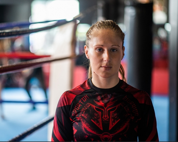 Анита Доганова с тежки тренировки и отлично настроение преди  MAX FIGHT 42 42