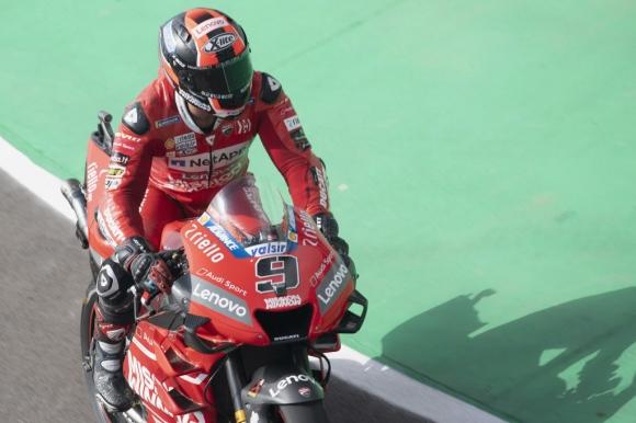 Петручи най-бърз във втората тренировка от MotoGP в Испания