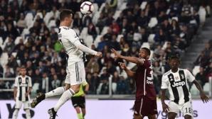 Роналдо спря Торино за Топ 4 (видео)