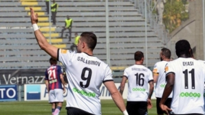 """Нов гол на Гълъбинов приближи тима му до плейофите за Серия """"А"""""""