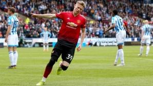 Ман Юнайтед отново разочарова и се прости с шансовете си за ШЛ