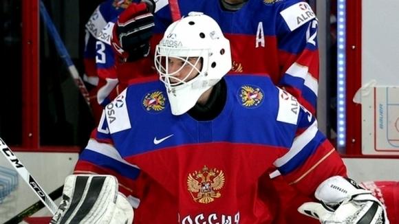 Александър Георгиев в състава на Русия за Световното по хокей