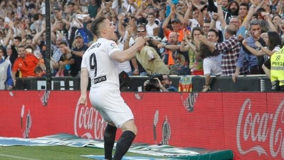 Валенсия направи решителна крачка към ШЛ