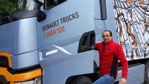 Световният шампион по ефективно шофиране на камиони даде старт на Optifuel Challenge 2019