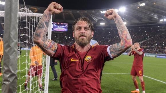 Де Роси се сбогува с Рома, чака оферти