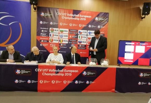 България е в първа група на Евро 2019 по волейбол до 17 години