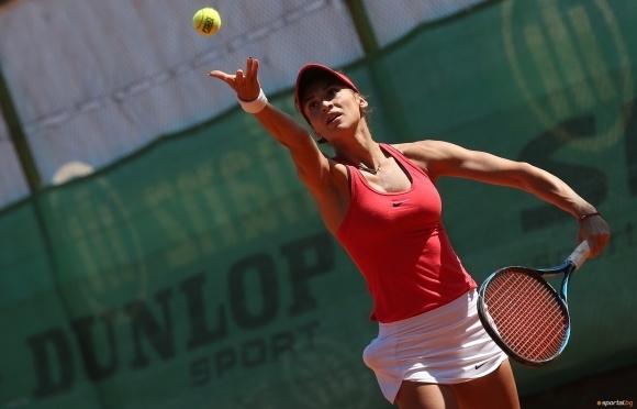 Вангелова се класира за втория кръг на турнир в Тунис