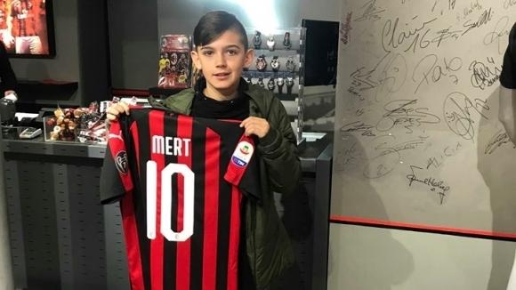 Милан покани на проби българче от Milan Junior Camp
