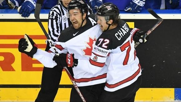 Канада надви Франция за третата си победа на световното първенство