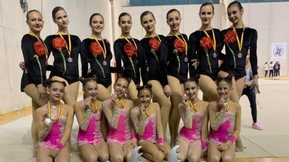 Голям български успех на съпътстващия турнир преди Световното по естетическа гимнастика