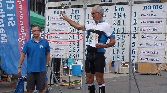 Световен рекорд: 71-годишен българин тича над 711 км. в Унгария