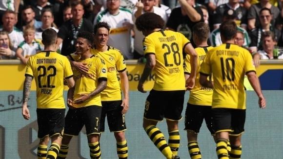 Дортмунд взе утешителна победа и остави Гладбах извън Шампионската лига (видео)