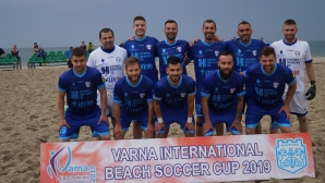 МФК Спартак стартира с победа на турнира по плажен футбол във Варна