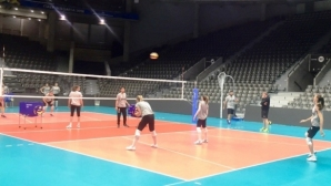 Волейболистките започнаха тренировки в Русе