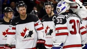 Канада нанесе първа загуба на Германия на СП по хокей