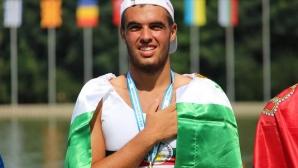 Емил Нейков остана много близо до медалите на скиф на Евро 2019 (видео)