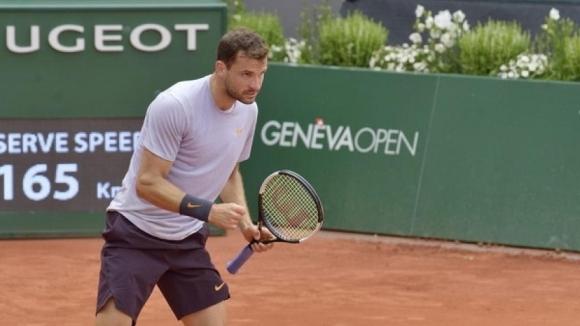 Насрочиха мача на Григор Димитров в Женева за вторник