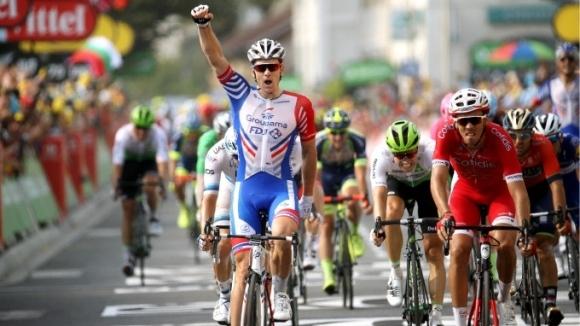 """Арно Демар спечели десетия етап от """"Джирото"""""""