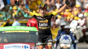 """Роглич с втора етапна победа в """"Джирото"""", Конти остава начело в генералното класиране"""