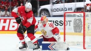 Русия с шеста поредна победа на световното първенство, Георгиев не допусна гол