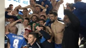 Сутиеска (Никшич) стана за четвърти път шампион на Черна гора