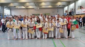 Каратеките ни с титла и общо 19 медала на Европейското по киокушин в Берлин