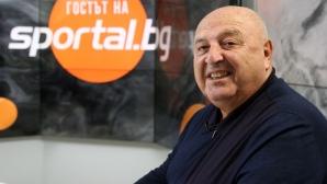 Президентът на Славия се оплака от съдиите на мача с Етър