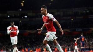 Обамеянг иска да стане легенда на Арсенал