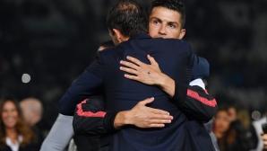 Роналдо с нов вариант за треньор на Ювентус