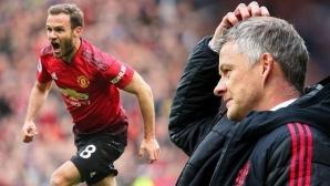 Манчестър Юнайтед се надява да задържи Мата