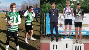 Шампионът в четирибоя Пламен Аршев между футбола и атлетиката