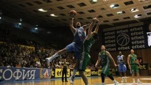 Левски Лукойл не сгреши у дома срещу Балкан и поведе за титлата (галерия)