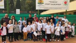 """За пета поредна година """"Тенисът - Спорт за всички"""" осигурява безплатен тенис за деца"""