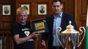 Крушарски: Стадионът и базата ще са готови до 5-6 години