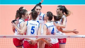 Световните шампионки от Сърбия с втора победа в Лигата на нациите (видео + снимки)