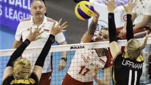 Малвина Смажек заби 32 точки! Полша разби Германия (видео + снимки)
