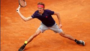 Александър Зверев достигна полуфиналите в Женева
