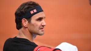 """Федерер преди """"Ролан Гарос"""": Не съм сигурен, че мога да бия най-добрите"""